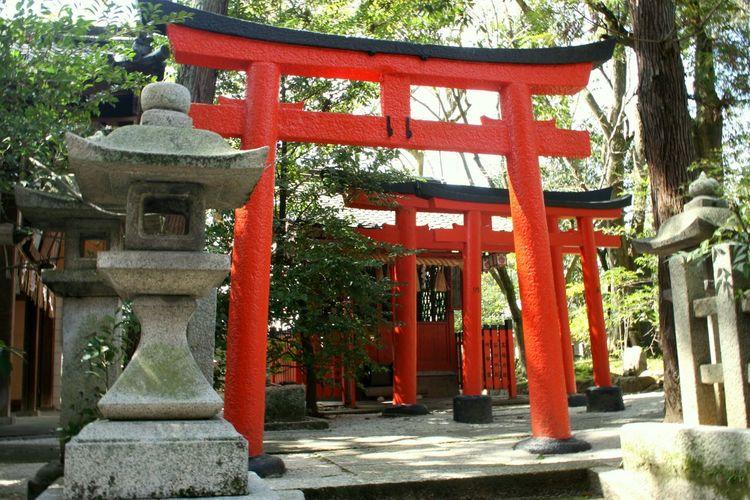 岡崎神社 Japan Kyoto 京都 神社 東天王 Shrine 鳥居