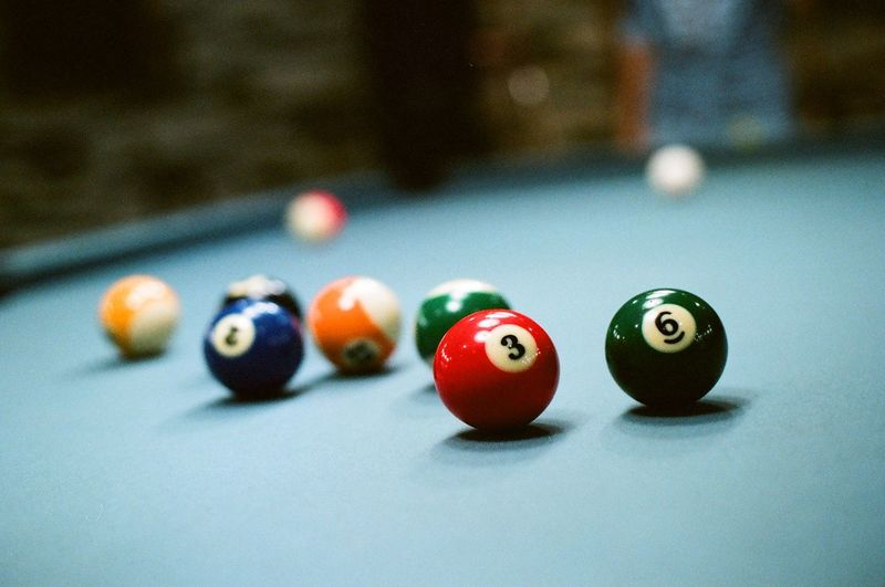 36 Ball Billiard Billiard Ball Billiard Table Billiards Color Colorful Colors Film Film Photography Filmisnotdead Pool Pool Billard Snooker Still Life Vintage