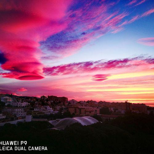 Atardeceres Marbella Magic Moments Otoño Verano Sunset Cielo Y Nubes  First Eyeem Photo