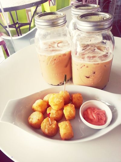 Sunday Buddies :) Caramelmacchiato Enjoying Life Foodporn Masonjar