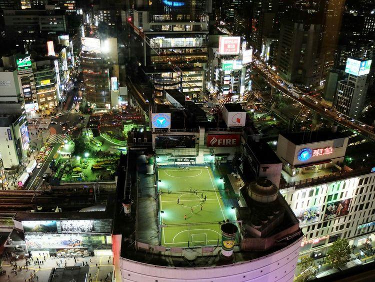Love!Squares in SHIBUYA birds eye view STLSQA Nightphotography Footsal Aerial Shot Urban Geometry Football 渋谷 City View  Shibuyacrossing Cityscapes