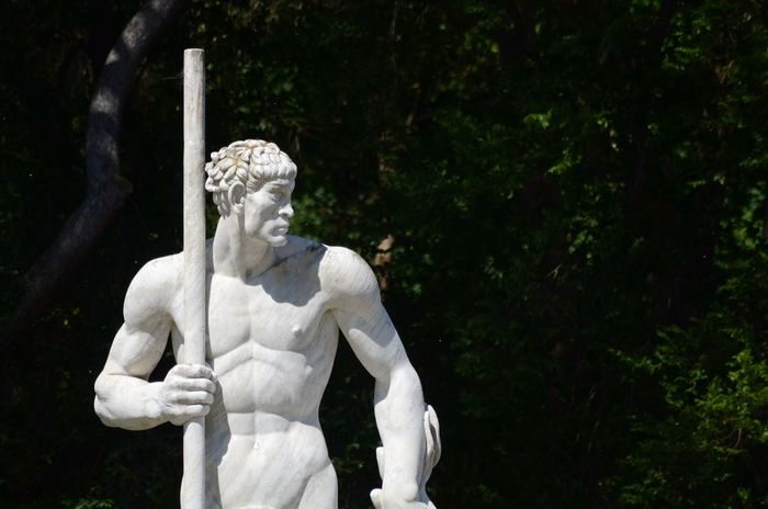 Art Creativity Day Focus On Foreground Foro Italico No People Outdoors Roma Sculpture Statue Capture Tomorrow