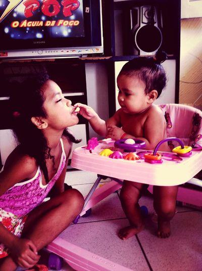 Princesas da mamae ?❤️