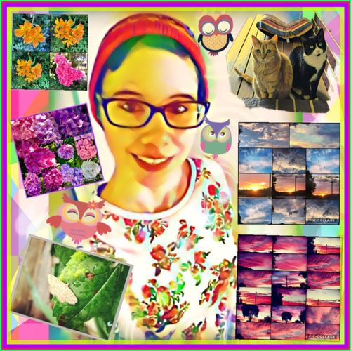 I just wanted to create a colourful world 💐🐱🌤🦋💚🍃🌷🌹🌤💜🙏🏻😌 Picsart Colourful Mylittleworld Flowers Skies Collages Cats Moth Selfie Funwithphotos GettingCreative👌🏼🖌 MyArt🖌🎨💜 ReadyFor2017