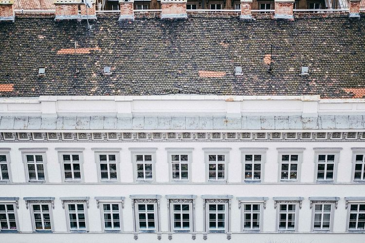 A Bird's Eye View Budapest Budapest, Hungary Budapest Love Architecture Building Exterior Built Structure Window City Outdoors Repetition No People Façade The Architect - 2017 EyeEm Awards