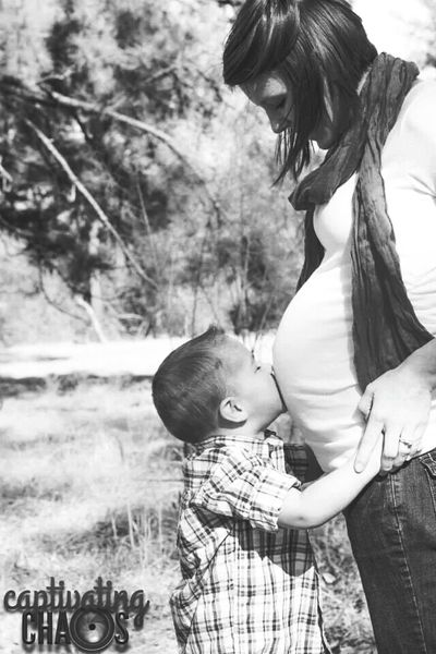 Mommy And Son Kisses Baby Sister Pregnant Maternity Shoot Beautiful Love Family Black And White Captivating Chaos Photography