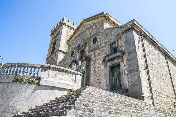 Montalbano Elicona, Messina (SIcily) Church Montalbano Elicona Sicilia Sicily Archaeology Architecture Building Exterior Built Structure History Italy Low Angle View Messina No People Place Of Worship Religion Spirituality The Past