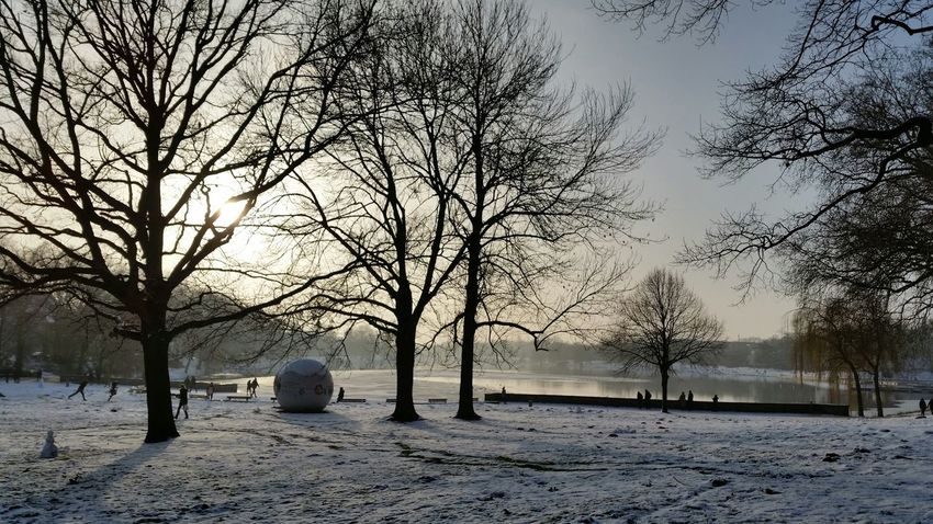 Aasee im Winter...
