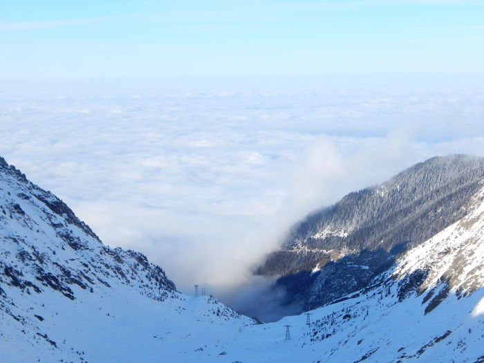No People Popular Photos Outdoor Photography Above The Clouds Transfagarasan Pass Alpine Road Snow Winter Tranquil Scene Cold Temperature Beauty In Nature Landscape No People Snowcapped Mountain Outdoors Mountain Range Mountain Nature