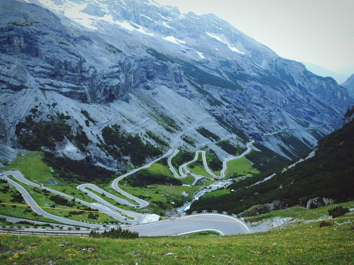 Italy Italian Alps Mountains Mountain Road Stelviopass Passo Stelvio Travelling Enjoying The View in Stelvio Road Trip Mein Automoment