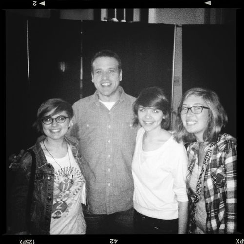 We got to meet Donald Miller, my favorite author and speaker! Is this happening?! :)
