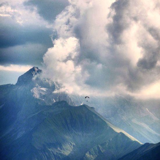 Alps Nebelhorn Paragliding Tadaa Community Stormy Weather Cloudporn