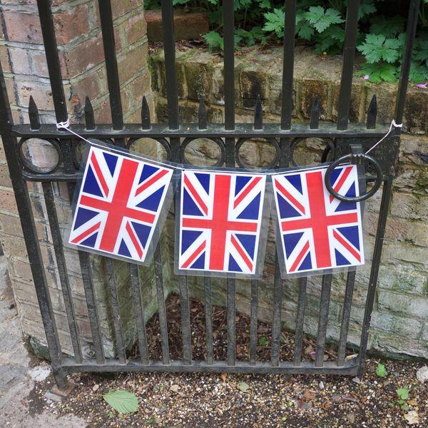 Unionjack United Kingdom Flags Bunting Streetparty Royal Wedding
