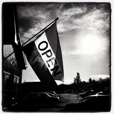 OPEN! A Good Sign! #miltonvt #vt Blackandwhite Sunsetporn Silhouette Instagood Sign Statigram Blackwhite Webstagram Monochrome Vt Bw 802 Iphoneonly Miltonvt Photooftheday Instagramvt Iphonesia Igharjit Picoftheday Vermontbyvermonters Vermont Vermont_scene Igvermont Igvt All_shots Vt_landscape Sunset Instamood Bestoftheday Silhouette_vets