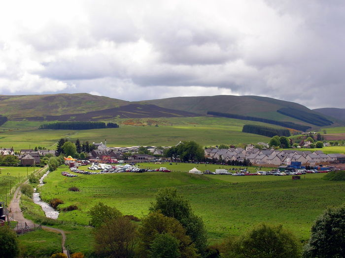 Blackford Highland Games Eye Village Scotland Beauty In Nature Built Structure Cloud - Sky Day Field Grass Green Color Growth Landscape Mountain Nature No People Outdoors Rural Scene Scenics Sky Tranquil Scene Tranquility Tree