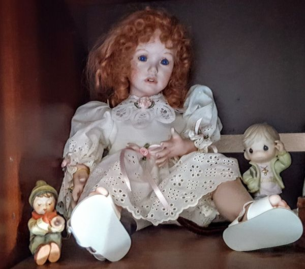 Vintage Dolls Redhead Doll Child Stuffed Toy Childhood Teddy Bear Doll Babyhood Girls Human Representation Close-up Female Likeness Figurine  Angel