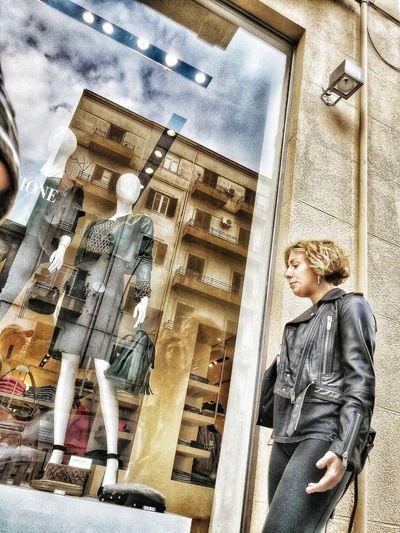 Woman Moda Fasion Palermo❤️ Sicily ❤️❤️❤️ Men Close-up Architecture Street Art