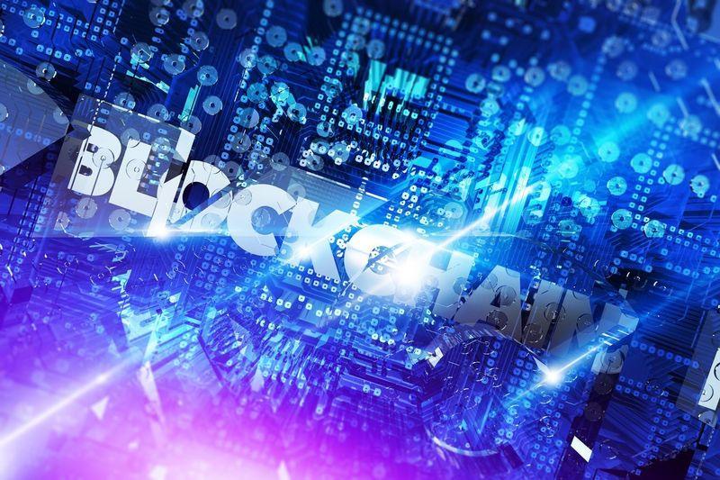 Blockchain Platform For Digital Assets Concept 3D Rendered Illustration. Digitized, Decentralized, Public Ledger of All Cryptocurrency Transactions. Abstract Blockchain Blockchain Technology Blue Cryptocurrency Illustration Network Technology
