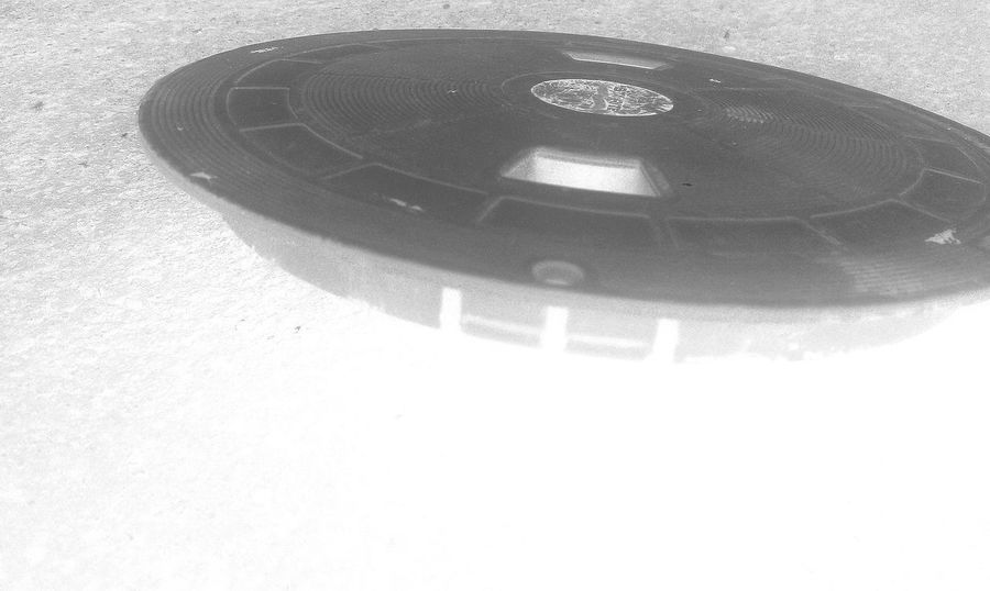 Pool filter lid that kind of looks like a flying saucer UFO Alien Filter Flying Saucer SpaceShip UFO Unidentified Flying Objects Close-up Day Flying Flying Saucer Ufo High Angle View Indoors  No People Saucer Ship