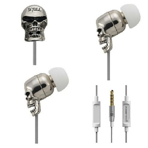 Gavio Dyna G in ear skull for sale rm125 ^^.Only one color silver for more info please add @ wechat (bhk3392) GAVIODYNAG Nakjual Jual Skull inear earphone silver style music fashion mudah trancefamily trance AVB asot asotmy astateoftrance accesory