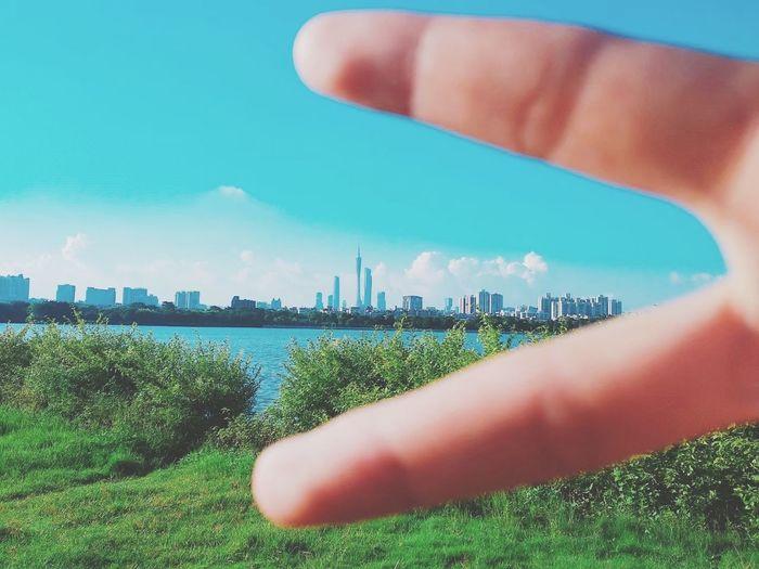 广州湖泊 羊城