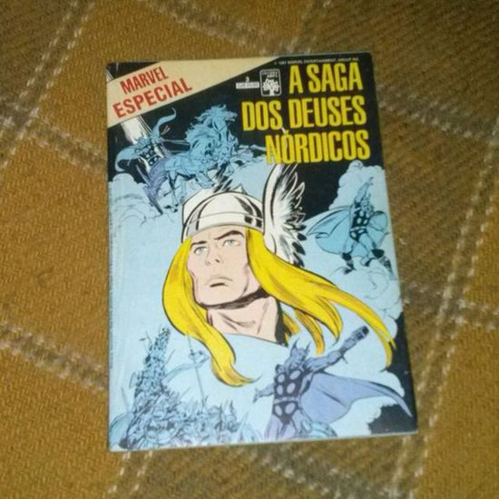 A saga dos Deuses Nórdicos Thor  Asagadosdeusesnordicos Asgard Comics quadrinhosclassicos classiccomics quadrinhos hq mitologianordica odin