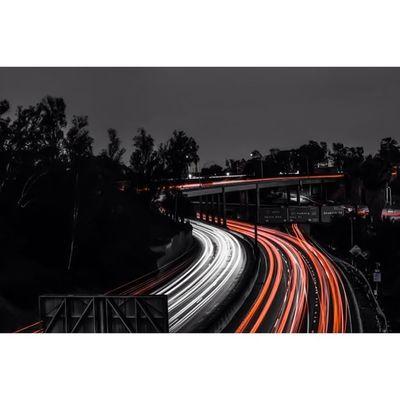 Exploring w/ @kevinspankee @jayjay93photography 🏃 DiscoverLA Weshootla Weownthenight_la Longexposures Nikon