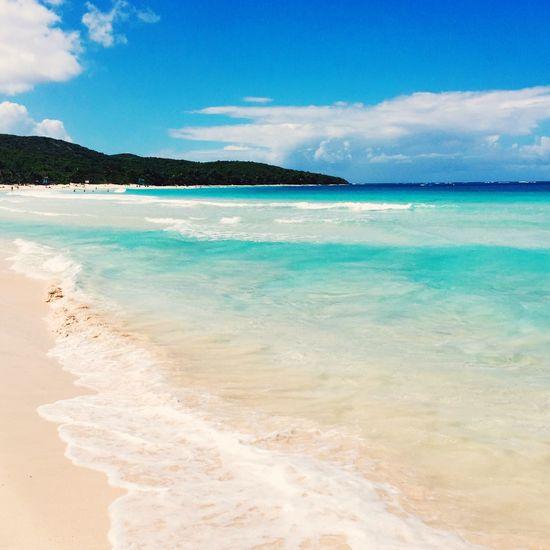 Great view Relaxing Enjoying Life Travel Isla Culebra Puerto Rico Ocean View Beachphotography Whitesand