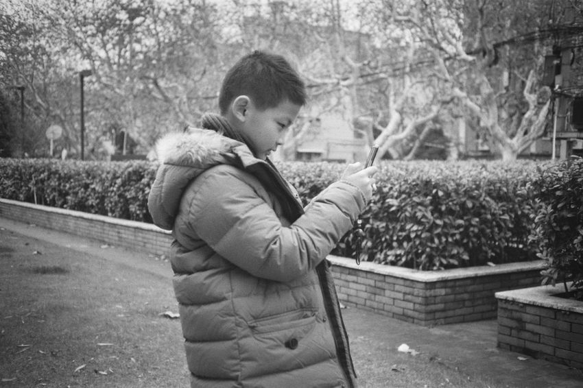Boy Mobile Phone Taking Photos Canon Film Film Photography Filmisnotdead Analogue Photography Standing