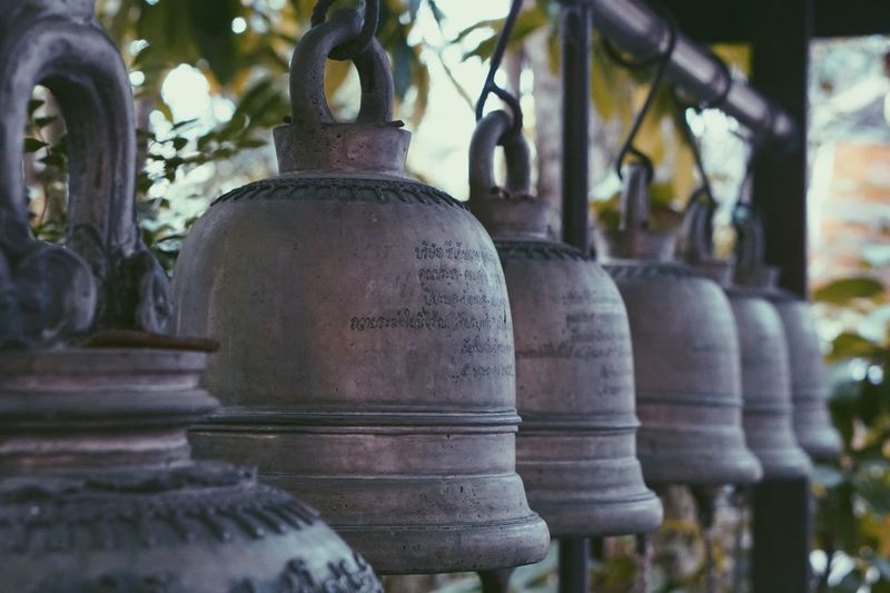 Temple Bell In