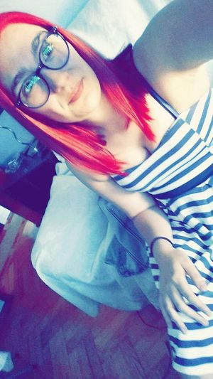 Selfie Tumblr Tumblrgirl Girl Fashiongirl  Girltumblr Redhair Pelirroja Enllamas