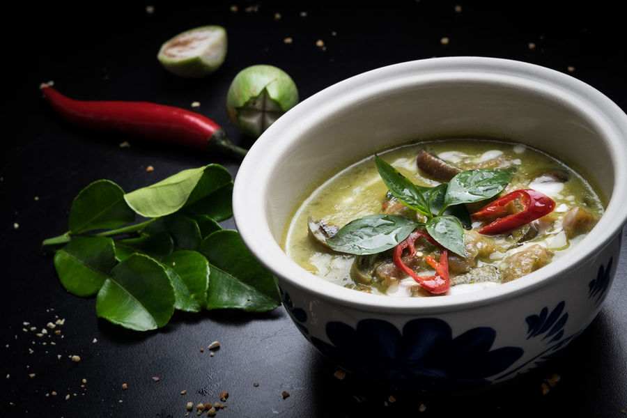 Thai Cuisine Asian Cuisine Food Styling Thai Menu Thai Cuisine Artistic Food Authentic Thai Food Close-up Food Food And Drink Freshness Healthy Eating Indoors  No People Ready-to-eat Thai Curry Thai Food