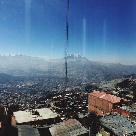 Quien te conoce no olvida jamás, oh linda La Paz, Bolivia La Paz View Mountain Sunlight Illimani Outdoors City Rolich