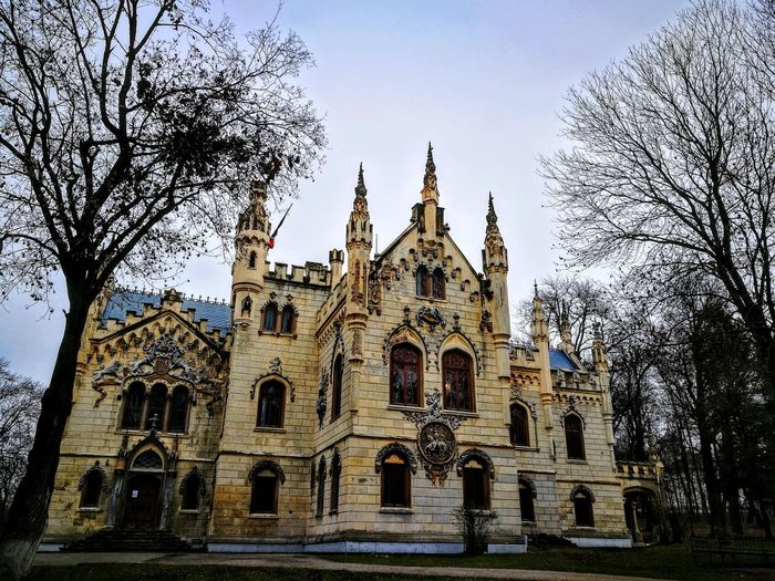 castel sturza... history Romania Travel Destinations Travel Romania Religion Place Of Worship Architecture Low Angle View Spirituality Built Structure Travel Destinations No People Building Exterior Outdoors Day Sky