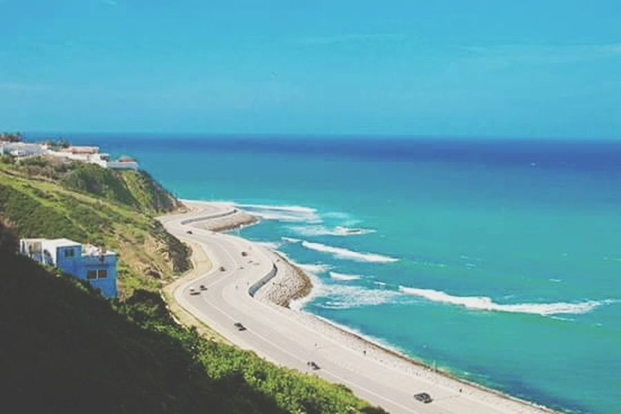 Happy BEACH!  Morroco Tanger