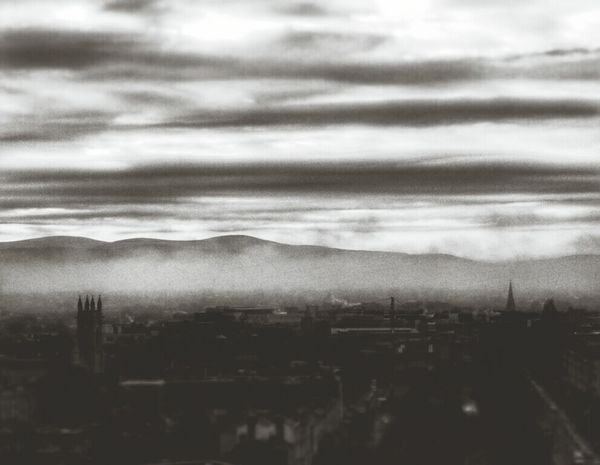 Brace yourself - winter is coming. Game of clouds Cityscapes Glitch
