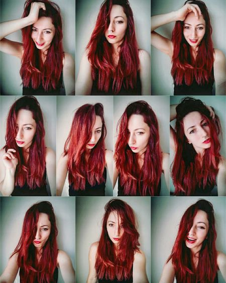 Redhair Beautiful Pretty Self Portrait Selfie ✌ Beauty Fashion&love&beauty Photography Pretty Girl Likeforlike Hızma Collage Istanbul City Picoftheday