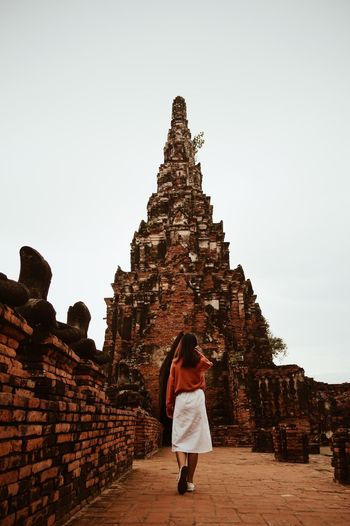 Thai temple Temple - Building Temple Ayutthaya | Thailand Ayutthaya Thailand Unseenthailand Architecture Religion Place Of Worship History Built Structure The Past Belief Travel Real People Travel Destinations