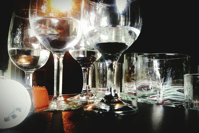 Creative Light And Shadow Glass Cup Darkness And Light Taking Photos Drinks! Fabian <3