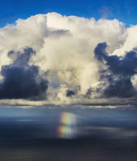 Cloudy Little Cloud Little Rainbow Rainbow RAINY SPRING DAY...