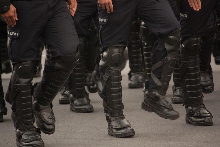 Security Guard Parade