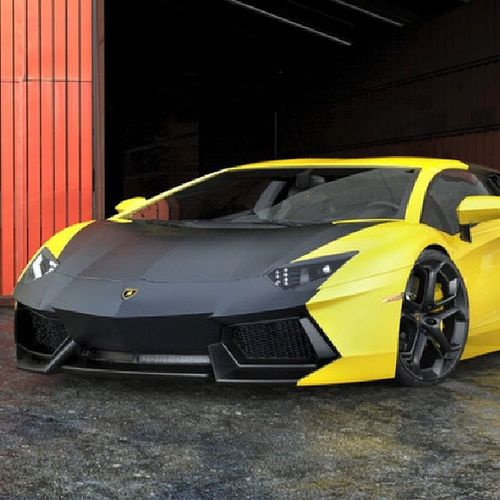 This car and all in the picture are all 3's rendered by an unknown designder just though I'd share it with y'all Auto Supercar Trickedout Tuned 3D Lamborghini