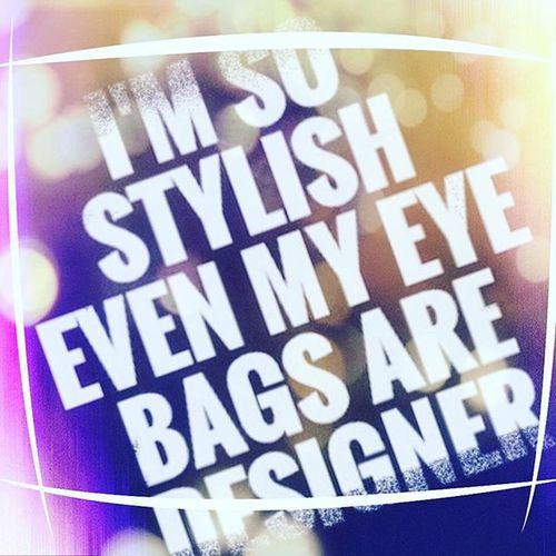 Goodmorningworld🌎 Wokeupstylish Eyeswideopen Bagged