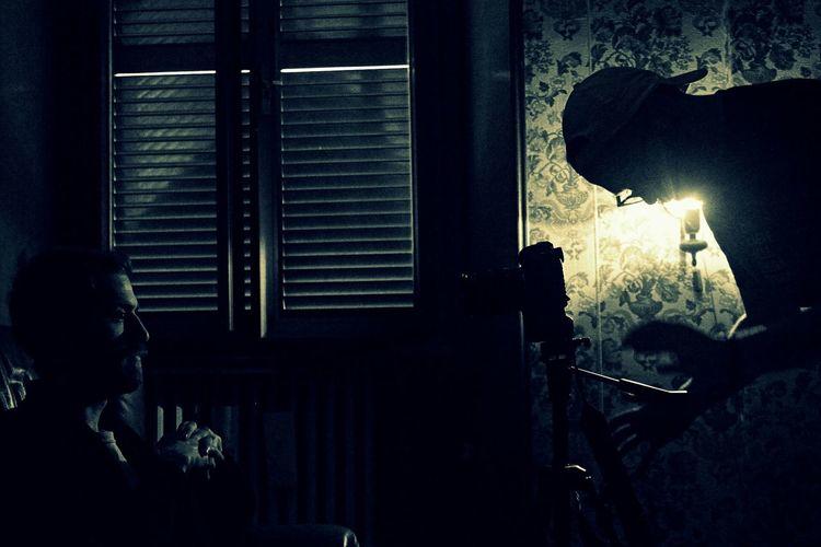 Monochrome Movie Time Cinematography OpenEdit EyeEm Best Shots - People + Portrait Memycameraandi Taking Photos Silhouette Roma