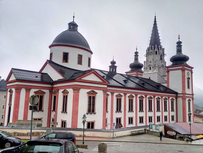 Architecture Austria Building Exterior Church Dome Mariazell Outdoors Travel Destinations
