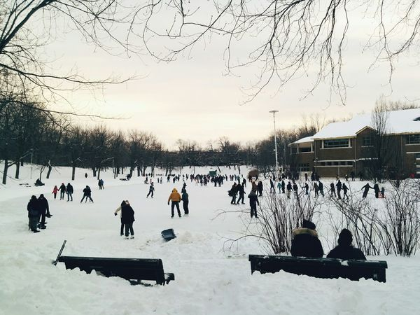 Sunday funday Skating. Ice Skating Winter Snow Vscocam