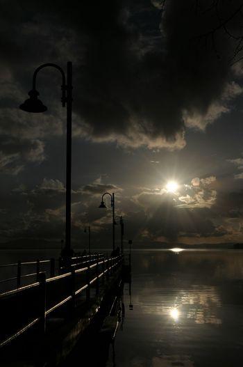 Night Cloud - Sky Dramatic Sky Tranquility Lake Water Moon Sky Nautical Vessel Outdoors No People Scenics Illuminated Storm Cloud Nature Sailboat Sailing Ship Beauty In Nature 3XSPhotography Trasimenolake