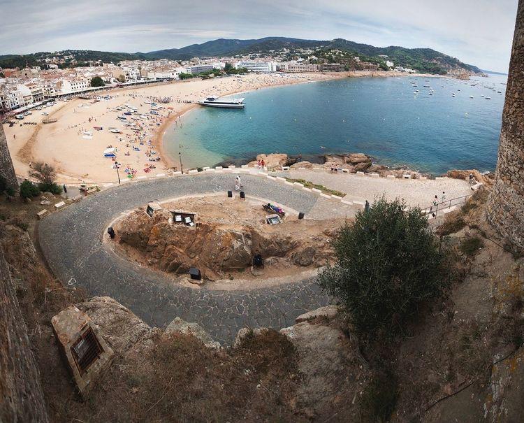 Traveling Travel Travelling SPAIN Tossa De Mar Landscape Landscape_Collection Landscapes Sea