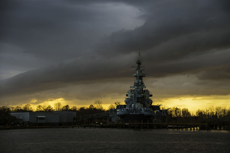 "Sunet USS North Carolina BB-55 ""THE SHOWBOAT"" 022618 Nikond750 Tamron28300 WithMyTamron Cloud - Sky Cloudporn #skyporn #beautiful #bestskysever Clouds And Sky Coldfront Coming In Nature No People Outdoors Portcity Sky Sunset #sun #clouds #skylovers #sky #nature #beautifulinnature #naturalbeauty #photography #landscape Tamronusa Ussnorthcarolina"