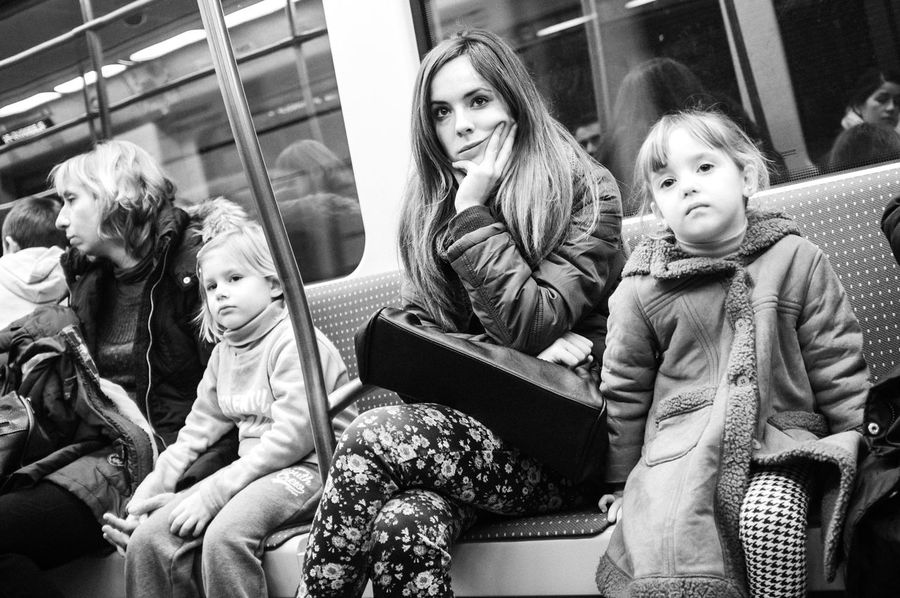 Streetphotography Blackandwhite Subway